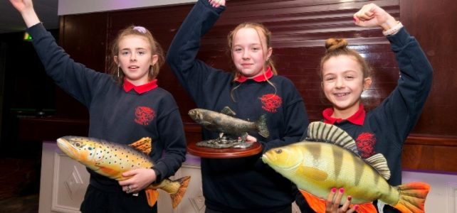 Some of the winning pupils from Doora National School, Ennis, Co.Clare