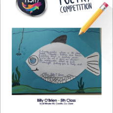 Poetry competition – 5th Class Third Place Billy O'Brein
