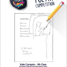 Poetry Competition – 5th Class Second Place Kate Campion